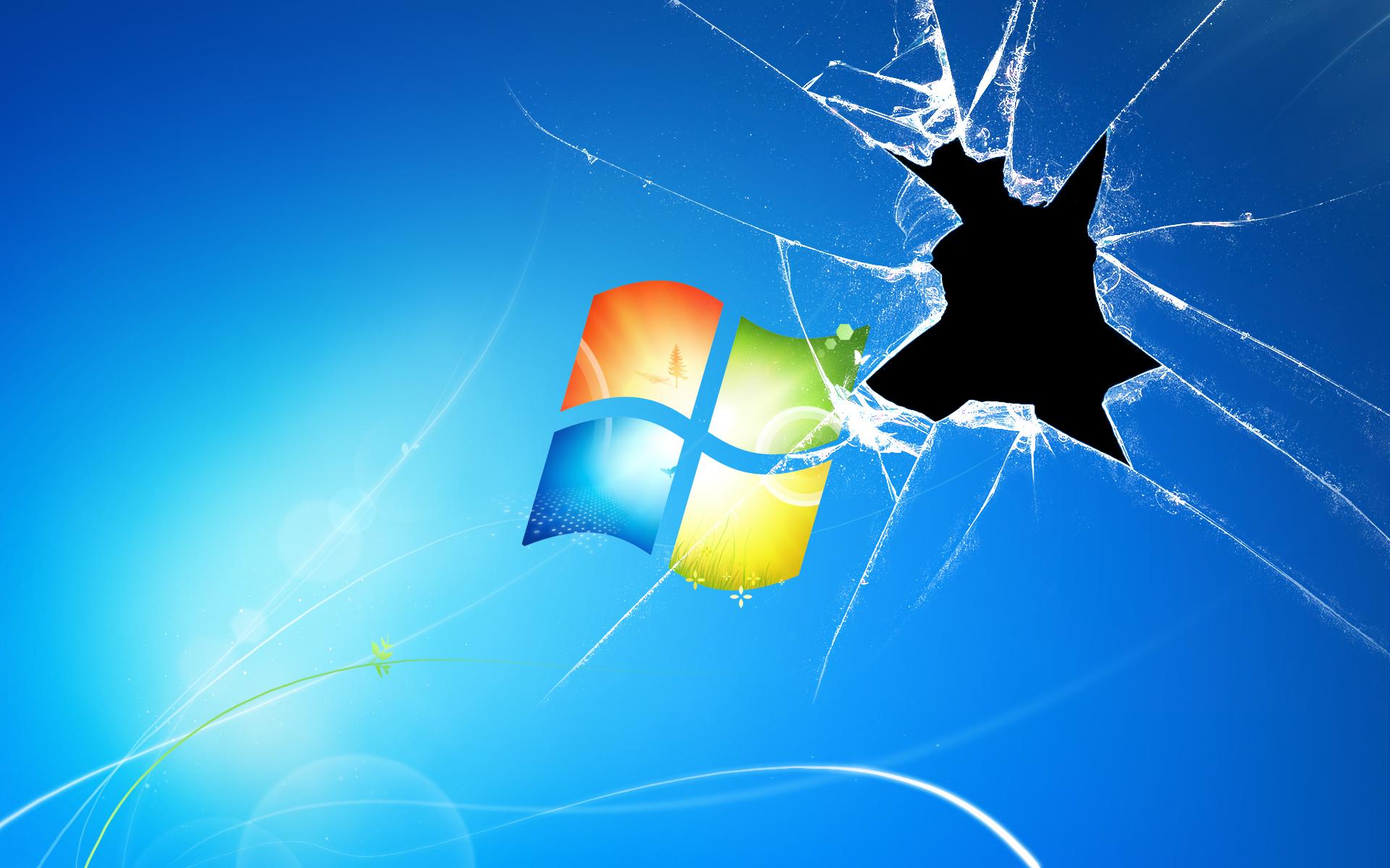 Broken Windows 7 by smuggle559