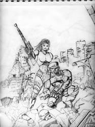 Sci-Fi military by Jareth210