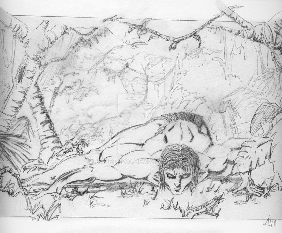 Jungle man by Jareth210