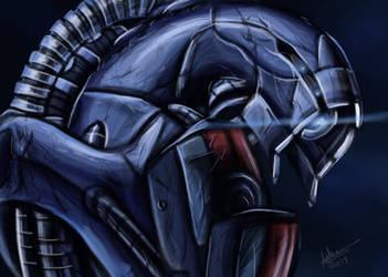 Legion painting by aprilelvidge