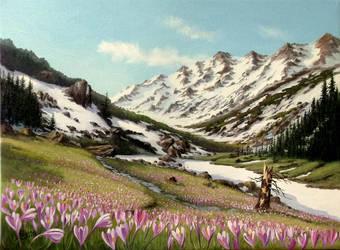 spring by gyurka