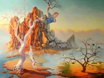 a dream of Pan Nick by gyurka