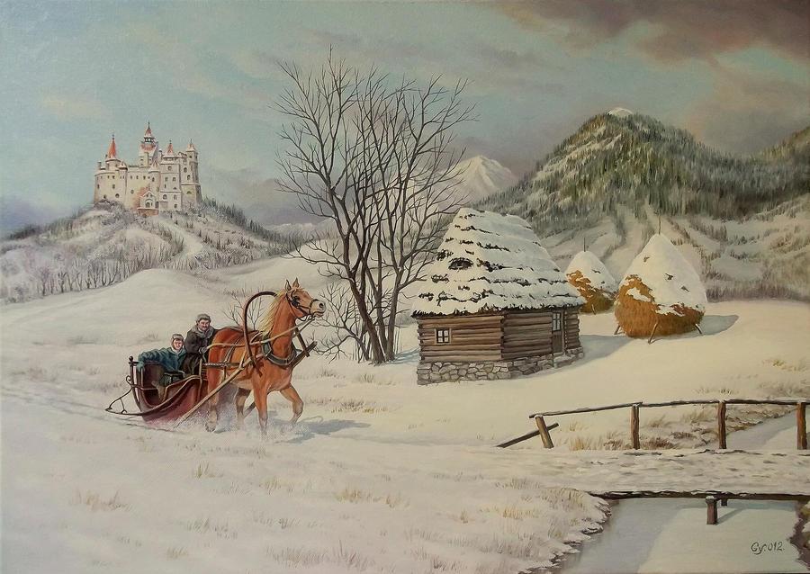 winter Transylvania by gyurka