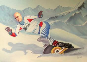 snowboarder by gyurka