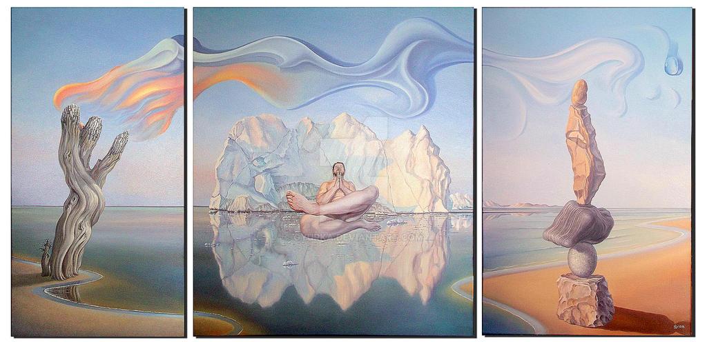 Patience Triptych by gyurka