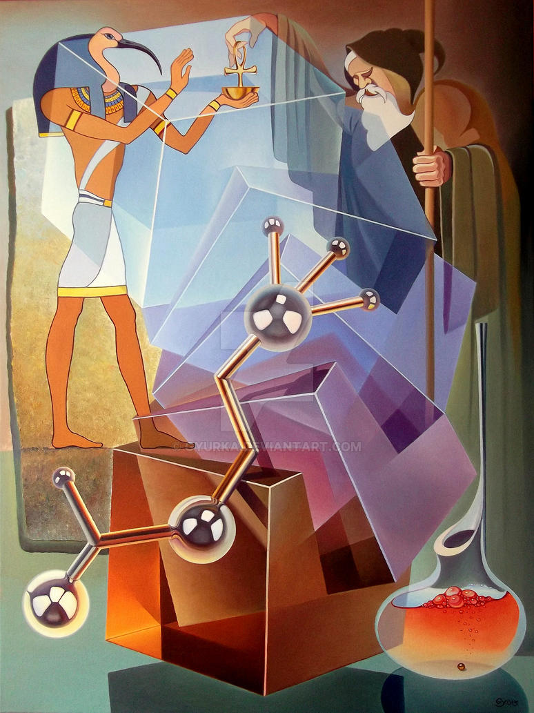 The Persistence Of The Knowledge Molecule by gyurka
