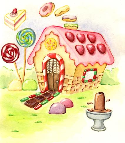 Hansel Gretel Cake House By Zombieoctopus On Deviantart