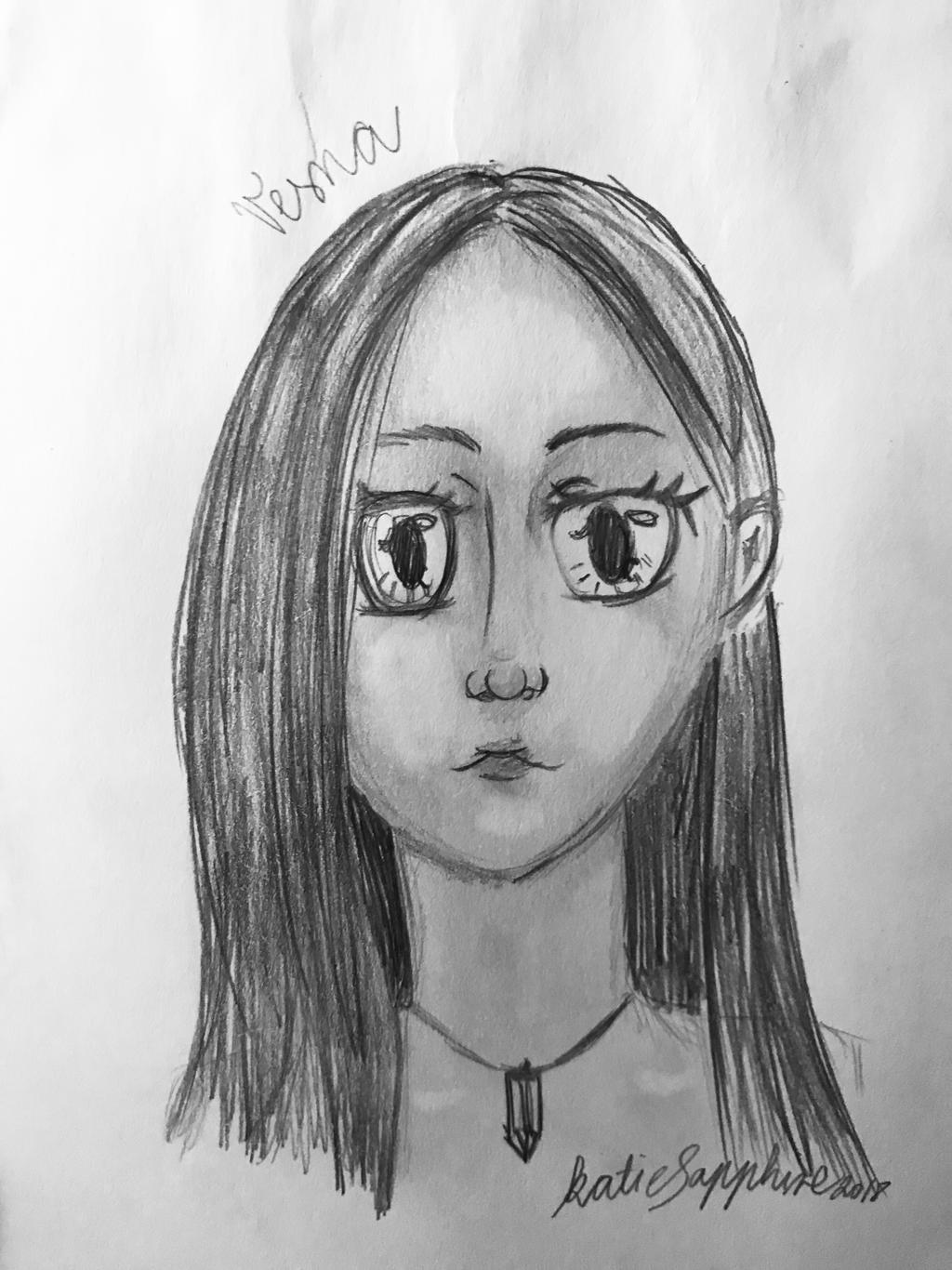 Vesna - front portrait | SKETCH