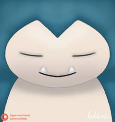 Snorlax's face   POKEMON