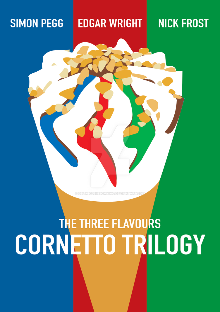 Cornetto trilogy poster