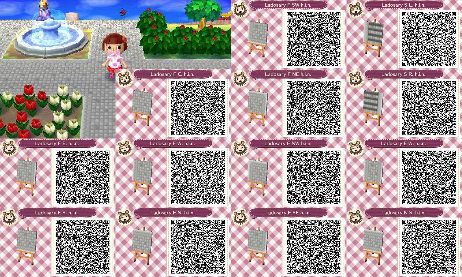 Ladosary Pathway Set - Animal Crossing NL QR [V10] by Hanae