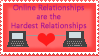 Online Relationship Stamp by PrincessHanyou