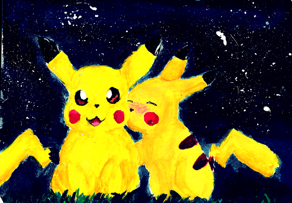 Pika Love by PrincessHanyou