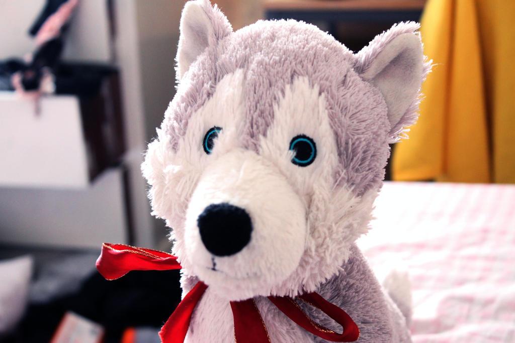 Dapper dog by PrincessHanyou