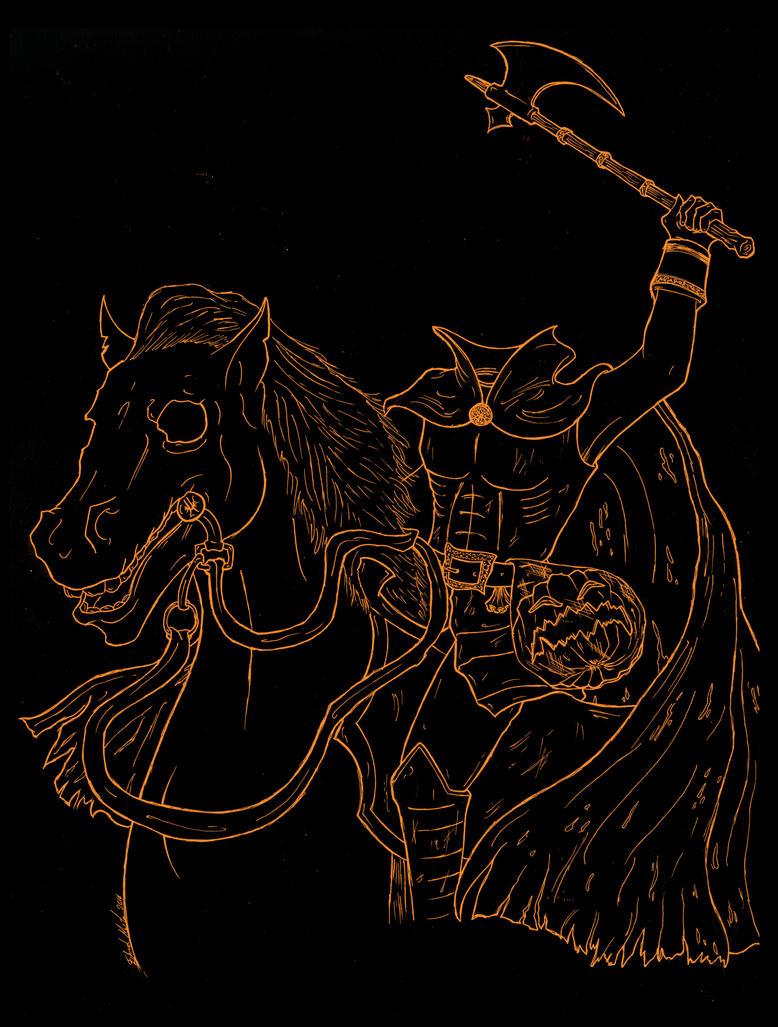 Midnight Rider by Edward-Morte