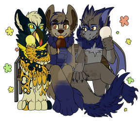 Commission- Ice Cream Buddies!