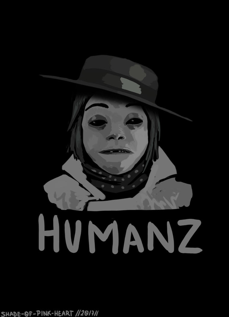 2D HUMANZ  by shade0fPinkHeart