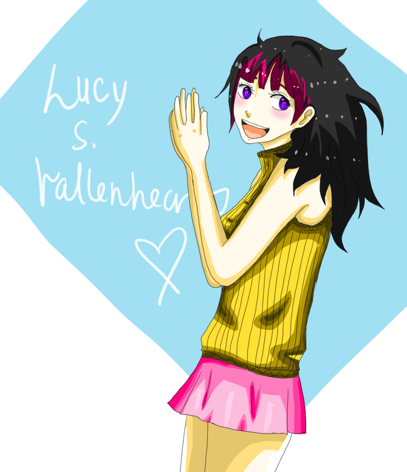 Lucy S. Vallenheart by OrangeSymphony