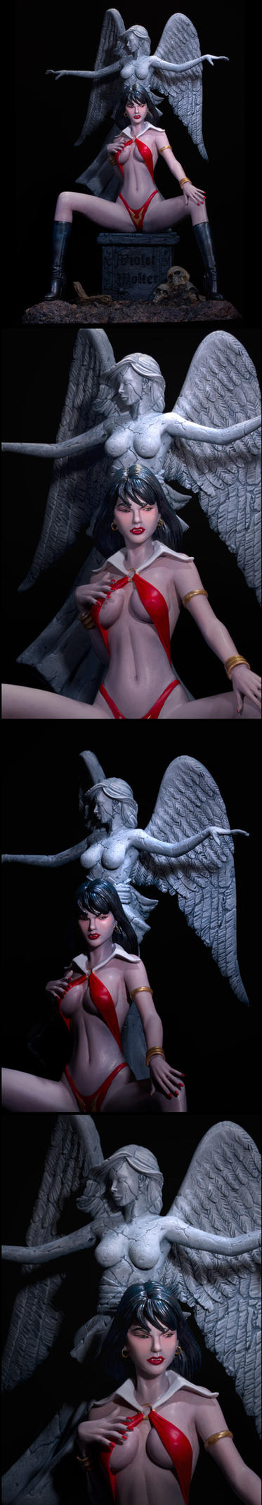Vampirella, The Lady is a Vamp Auction by sivousplay