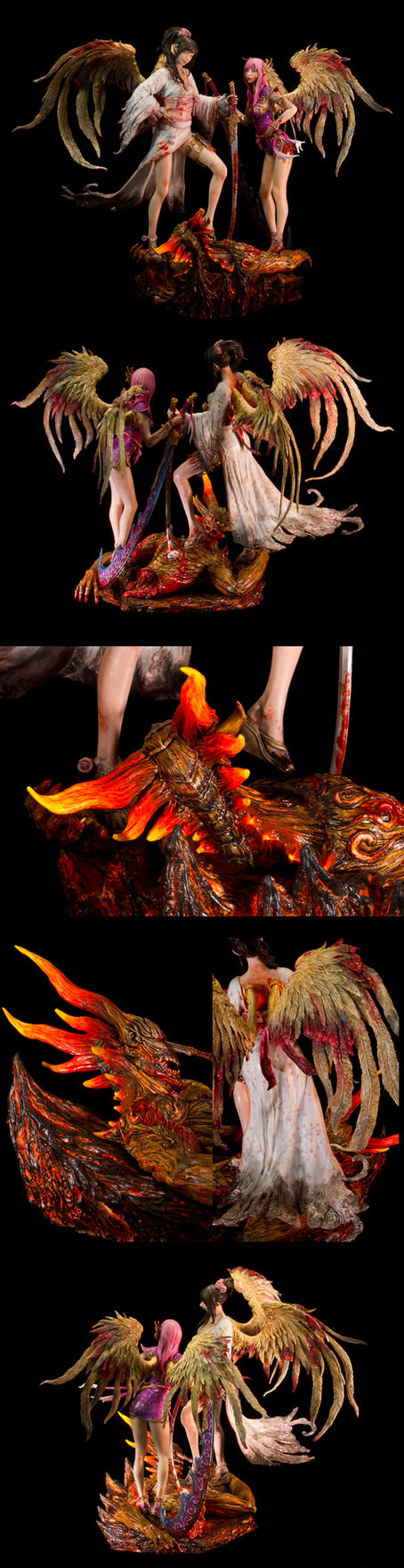 Guardian's Sacrifice collage by sivousplay