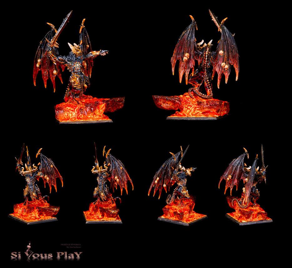Be'lakor, Chaos Demon Prince by sivousplay