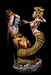 Medusa's Gaze by sivousplay