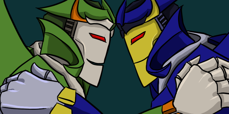 Dreadwing and Skyquake by Ed21 on DeviantArt