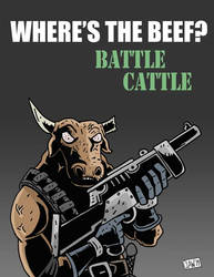 Battle Cattle by Alex-Claw