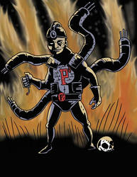 Pyromaniac Pseudopod by Alex-Claw