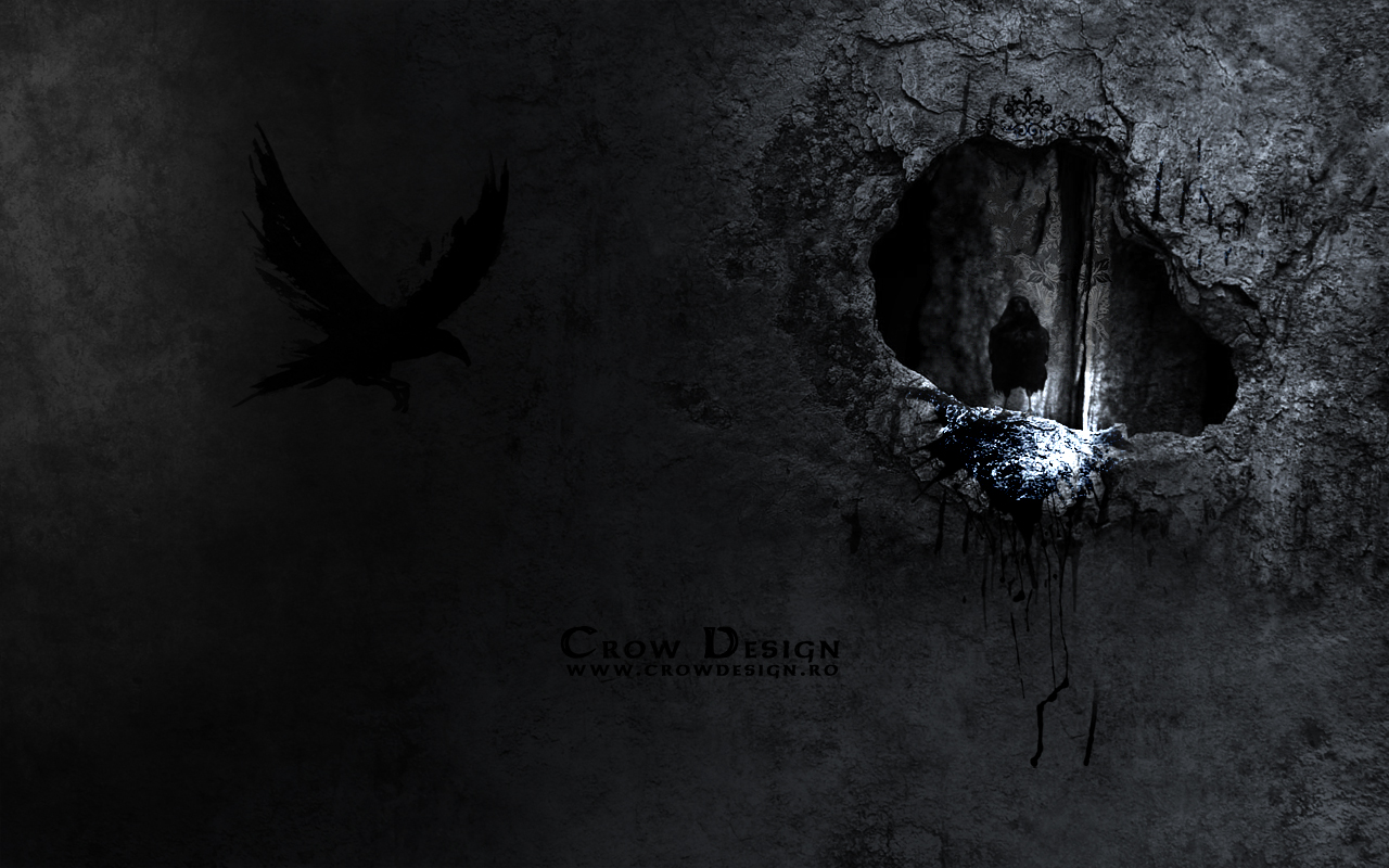 CrowDesign Wallpaper 2 by dpaulo