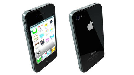 iPhone 4s - 3D by Kyckling