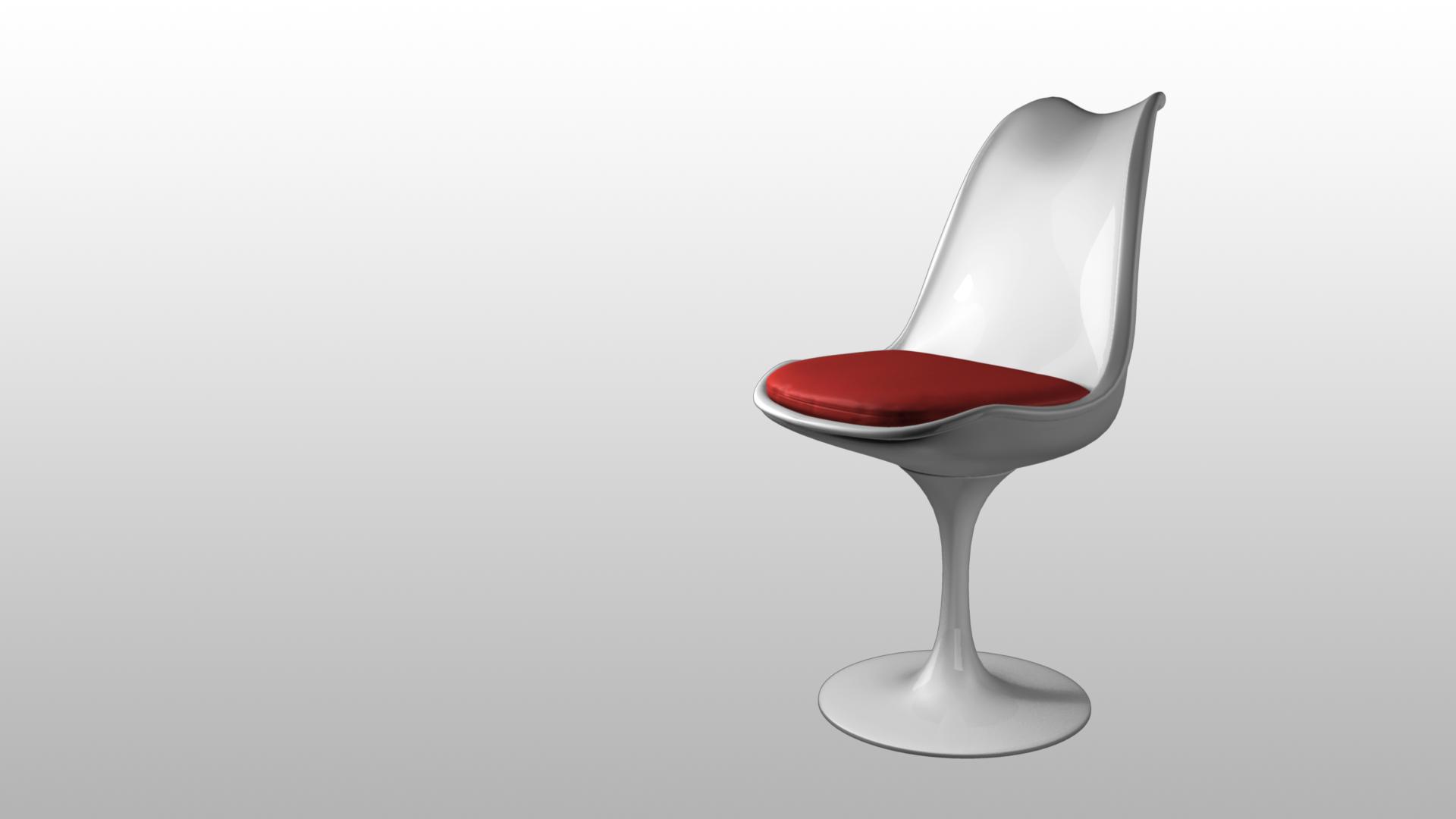 Tulip Chair 3D by Kyckling on DeviantArt