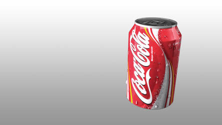 Cola Can - 3D by Kyckling