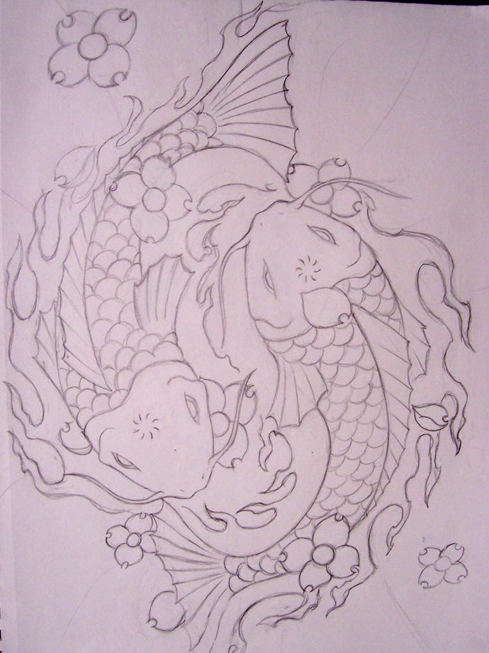 My cool koi fish design by portcityreject on deviantart for Cool koi fish
