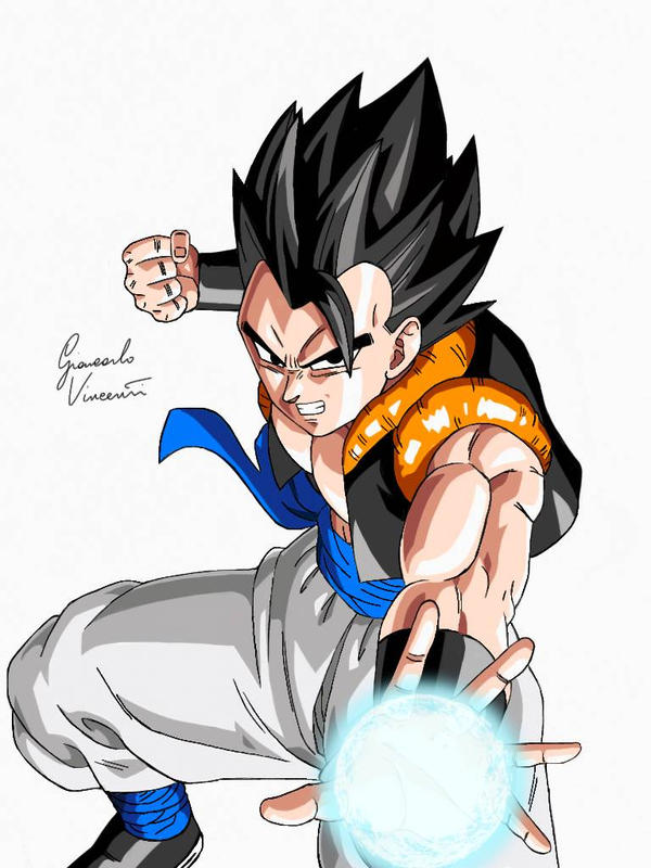 Gogeta Normal By Giankart On Deviantart