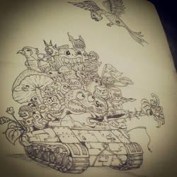 animal tank by zulfizuhairi