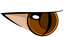 Zhale's Eye Vector by lxblack