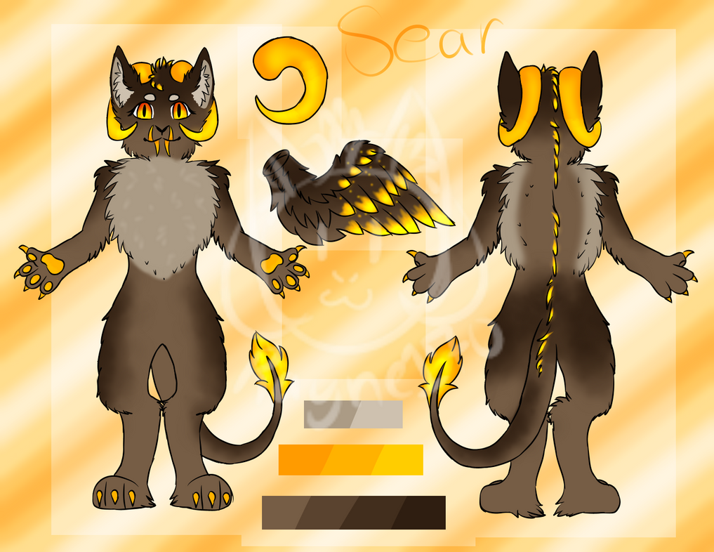 Updated: Sear Ref Sheet by rayne170