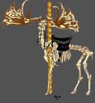 Undead Carousel: Irish Deer