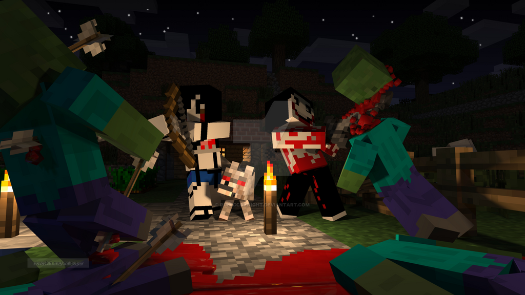 cool wallpapers of minecraft zombies - photo #6