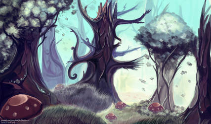 Whispering Woods by Gonket