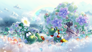 Commission: Spring meadow