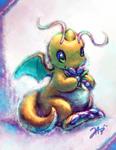 Chibi Dragonite