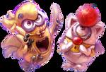 Choco-Minion and Mog-Minion!