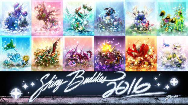 Shiny Buddies 2016 Collection