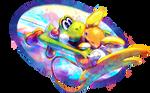 Commission: Yoshi used Tackle!