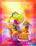 Commission: Yummy pancakes!