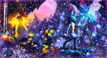 Commission: Cavern exploring