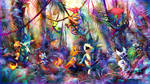 Commission: Drigo's Tribal team by JA-punkster