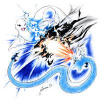 Dewgong vs. Dragonair